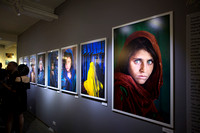 A Lifetime of Work Exhibition by Steve McCurry, November 14th, 2016
